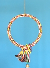 K1032 - Medium Rope hoop with toy