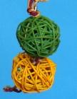 K1532 M – Two Rattan balls M