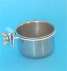 Cup with ring S - Malý nerezový kalíšek s úchytným mechanismem