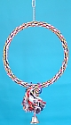 Toy K1031 - Large rope hoop with tassel