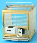 TC03  Medium Aluminium Travel Cage