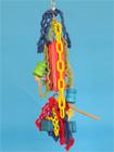 H332 - závěs s kostkami a řetězy