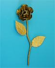 Rose GT - zlatá okrasná růže ke kleci